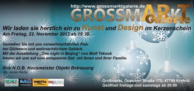 2013 - Kunst und Design im Kerzenschein